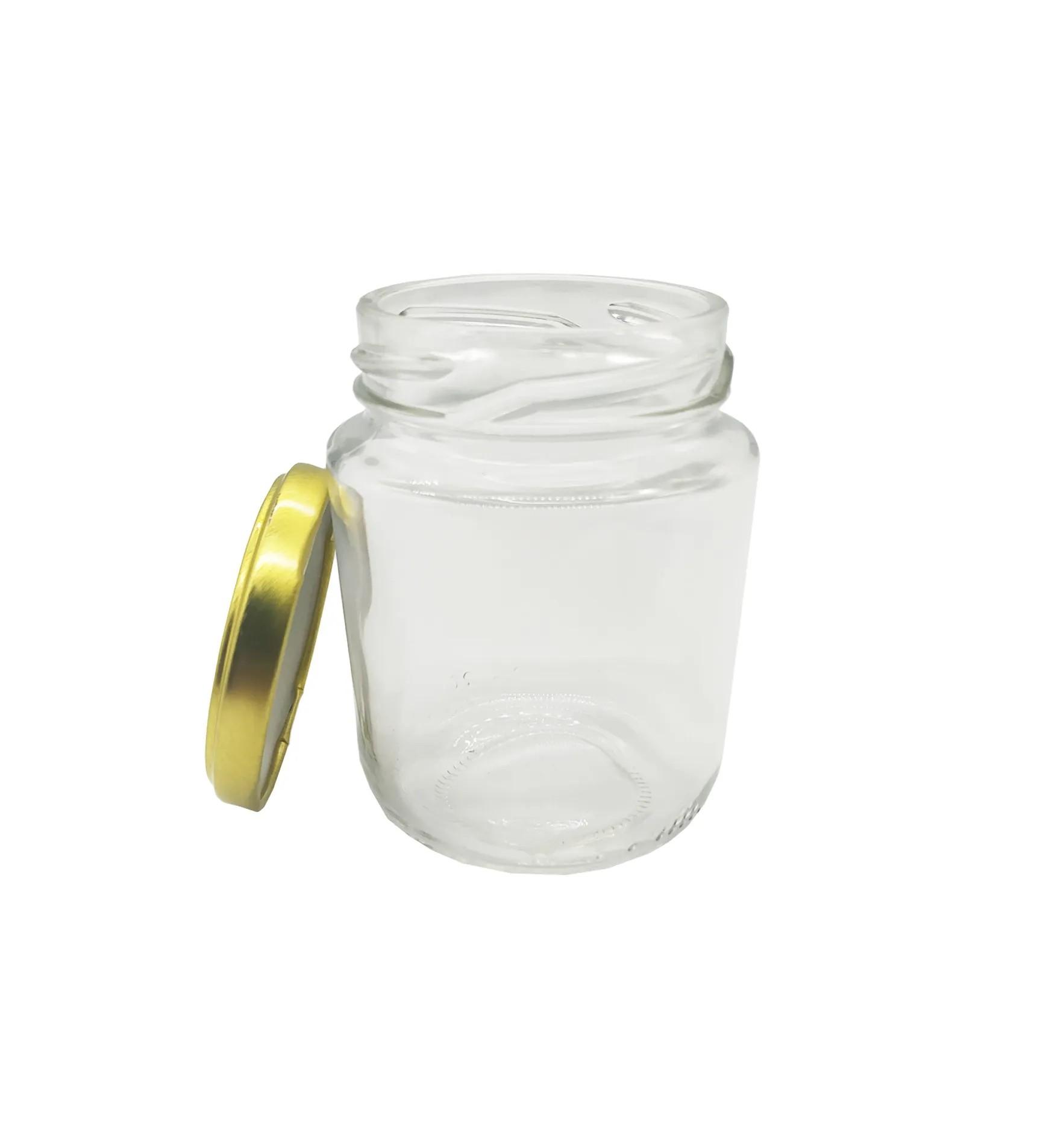 Pote vidro 240ml com cx 24 unidades