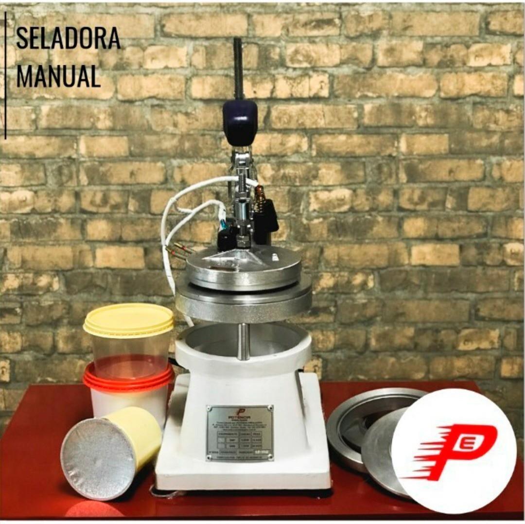 Maquina seladora manual