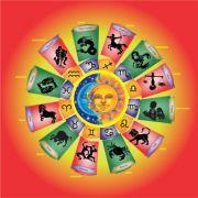 Mandala Astrológica Lua e Sol