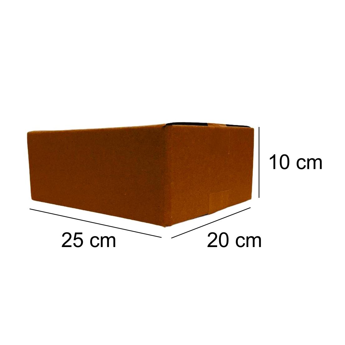 100 Caixas de Papelao (25X20X10)cm - Sedex / Pac / Correios