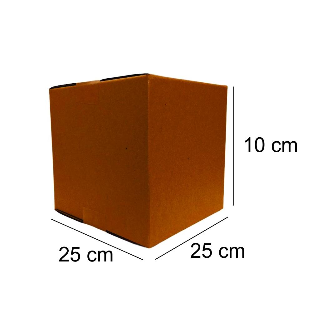 100 Caixas de Papelao (25X25X10)cm - Sedex / Pac / Correios