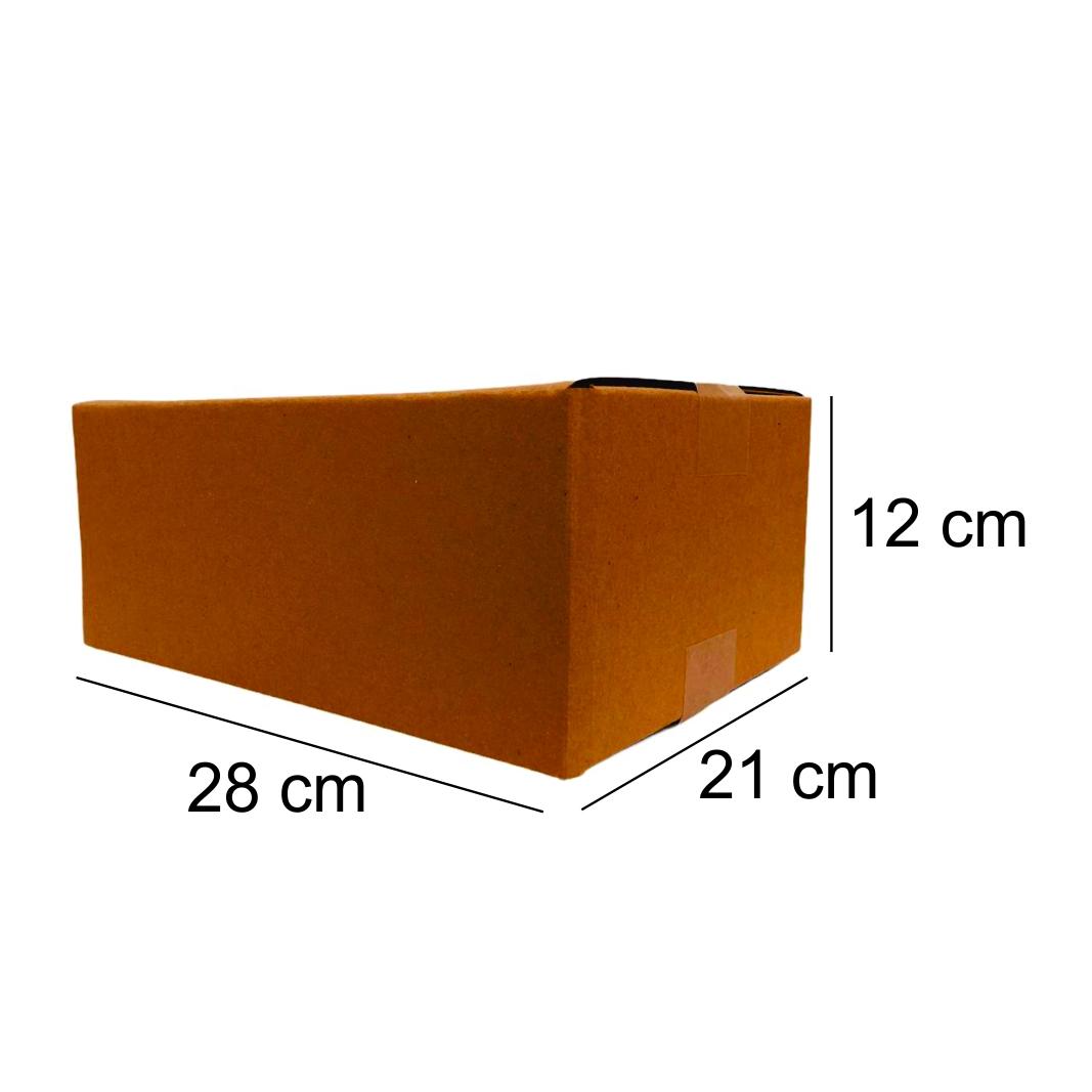 100 Caixas de Papelao (28x21x12)cm - Sedex / Pac / Correios