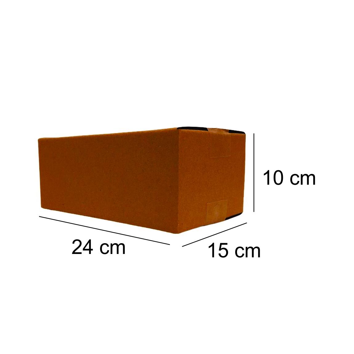 10 Caixas de Papelao (24X15X10)cm - Sedex / Pac / Correios