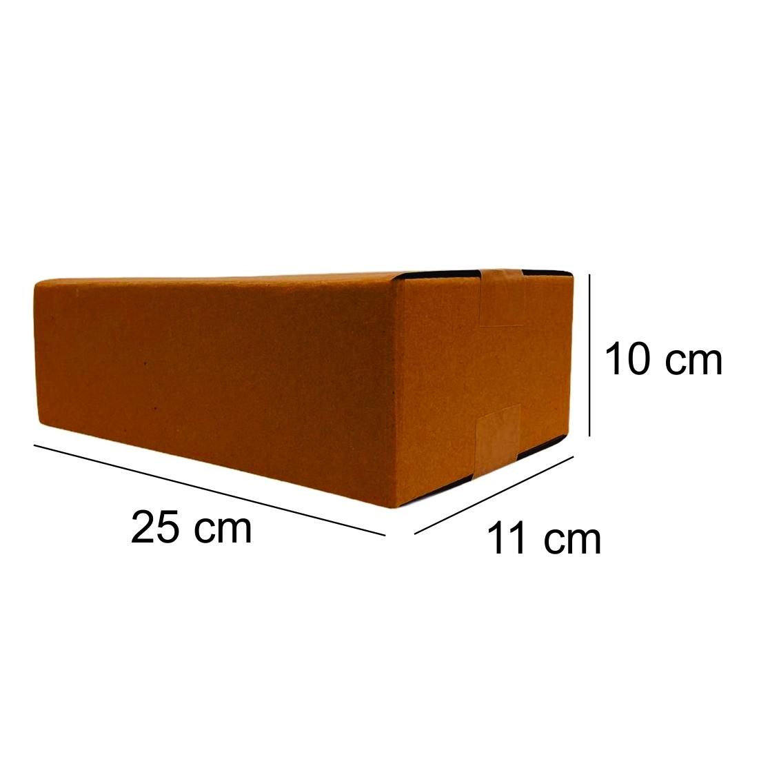 10 Caixas de Papelao (25X11X10)cm - Sedex / Pac / Correios
