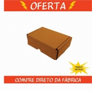 Caixa de Papelão Montável 16x11x5cm