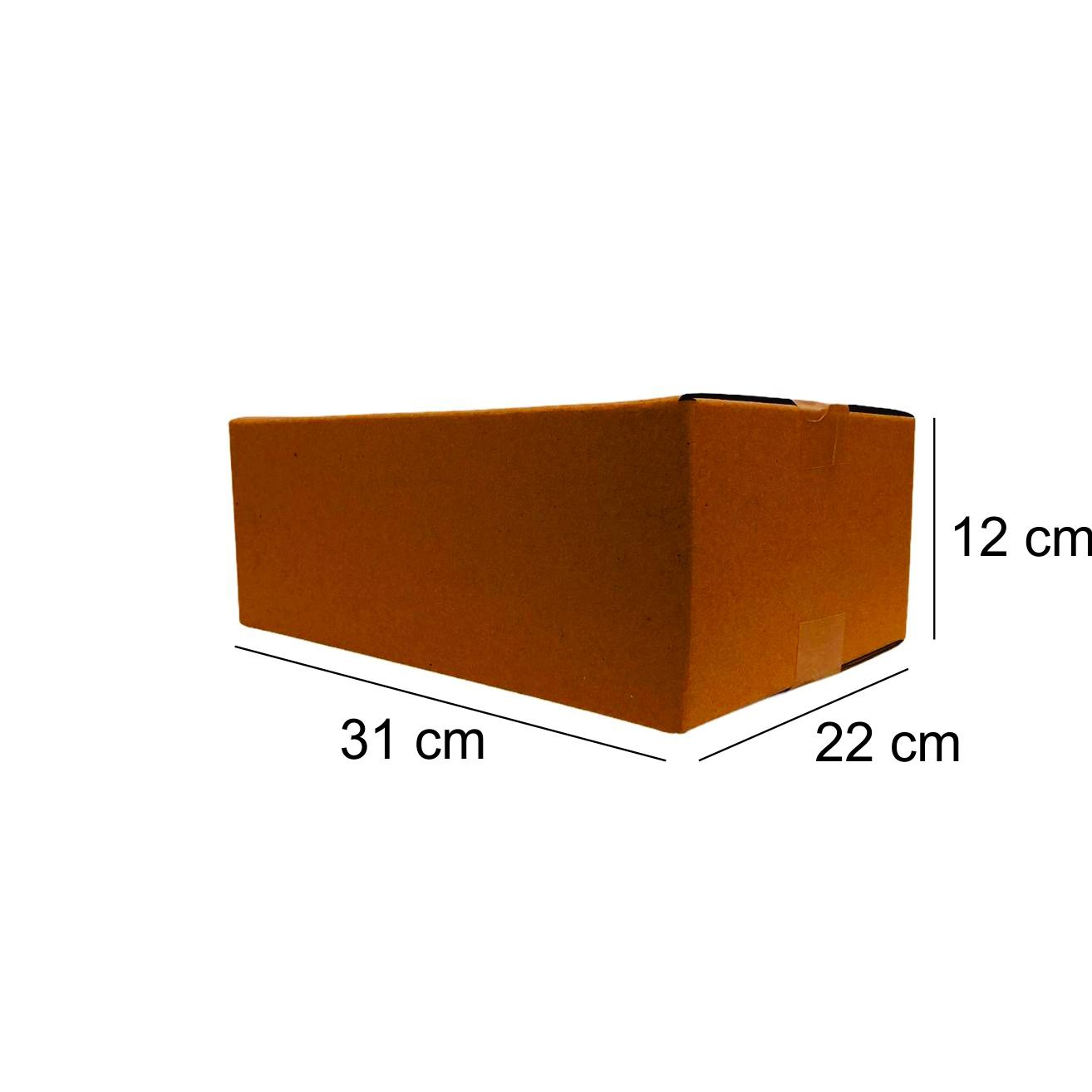 200 Caixas de Papelao (31X22X12)cm - Sedex / Pac / Correios