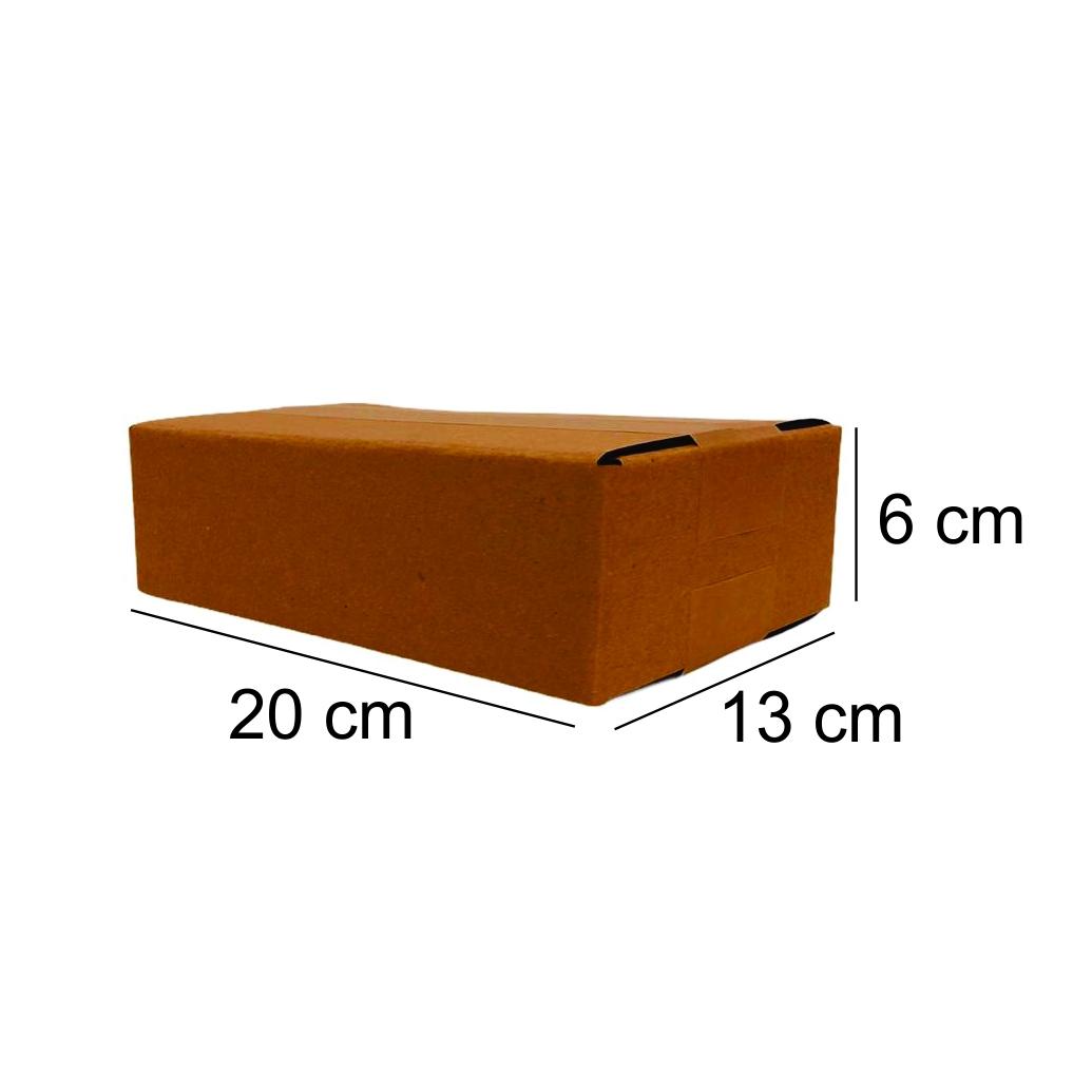 25 Caixas de Papelao (20X13X6)cm - Sedex / Pac / Correios