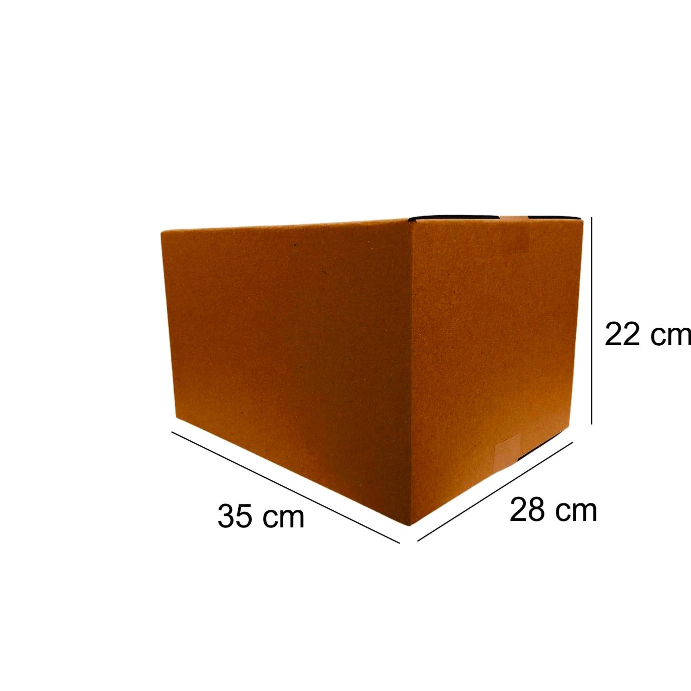 25 Caixas de Papelao (35X28X22)cm - Sedex / Pac / Correios