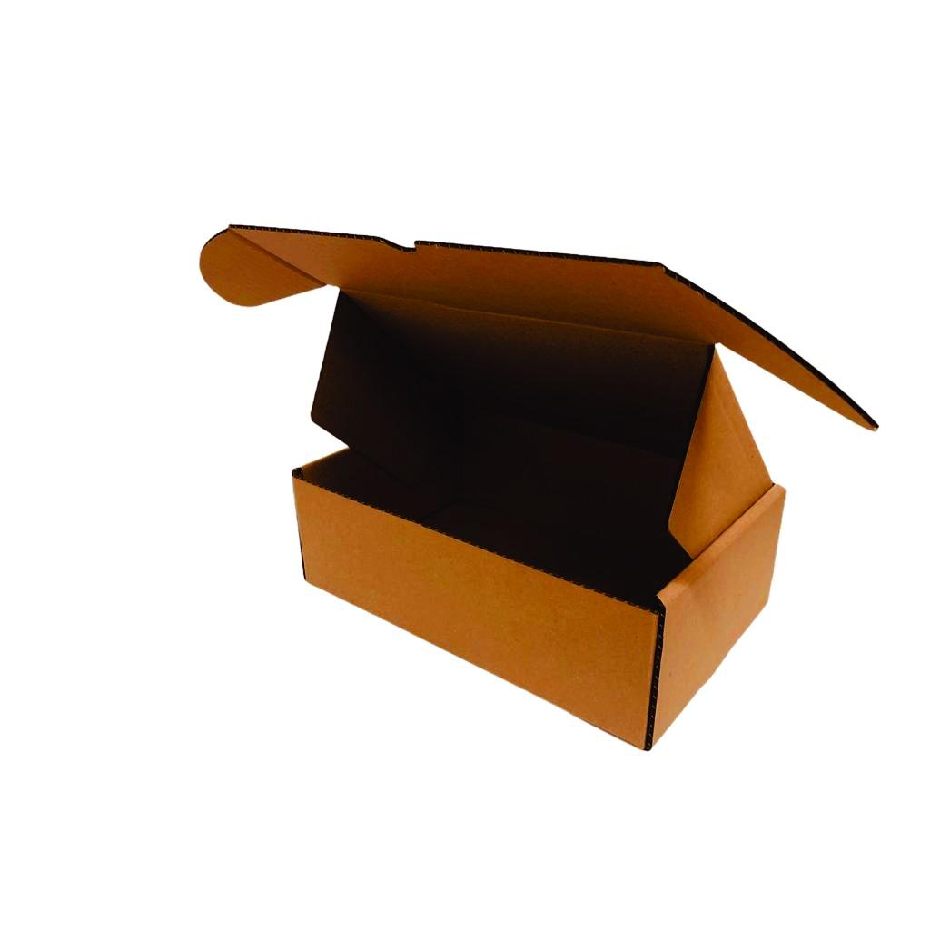 25 Caixas de Papelão Montável (27X18X9)cm - Correios