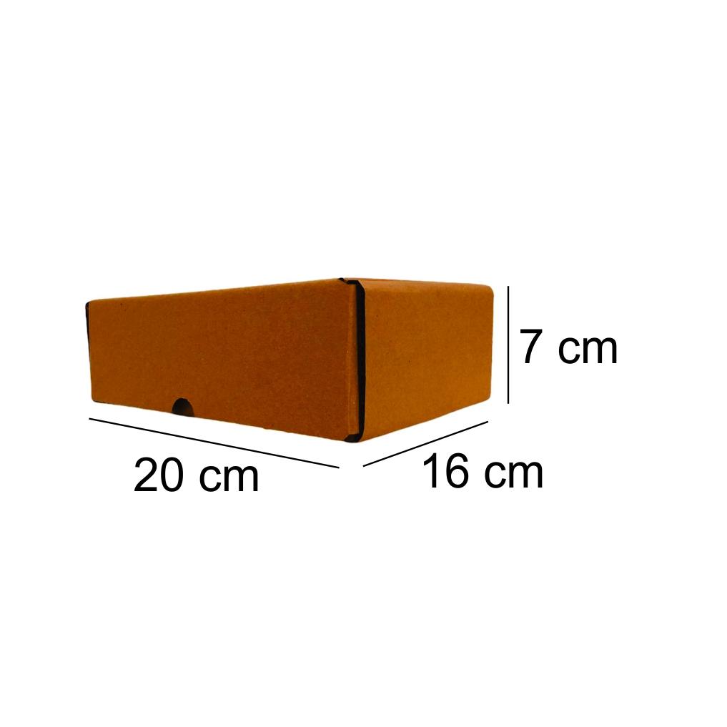300 Caixas de Papelão Montável (20X16X7)cm - Correios