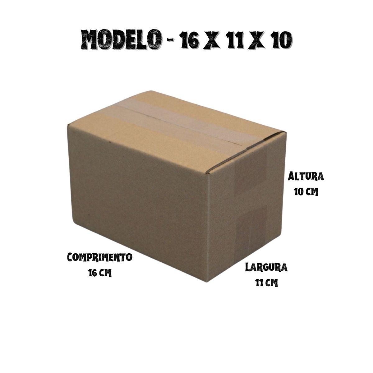 400 Caixas de Papelao (16X11X10)cm - Sedex / Pac / Correios