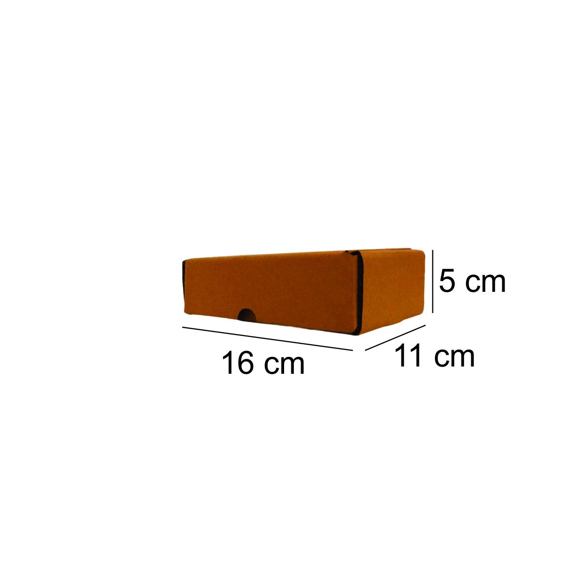 50 Caixas de Papelão Montável (16X11X5)cm - Correios