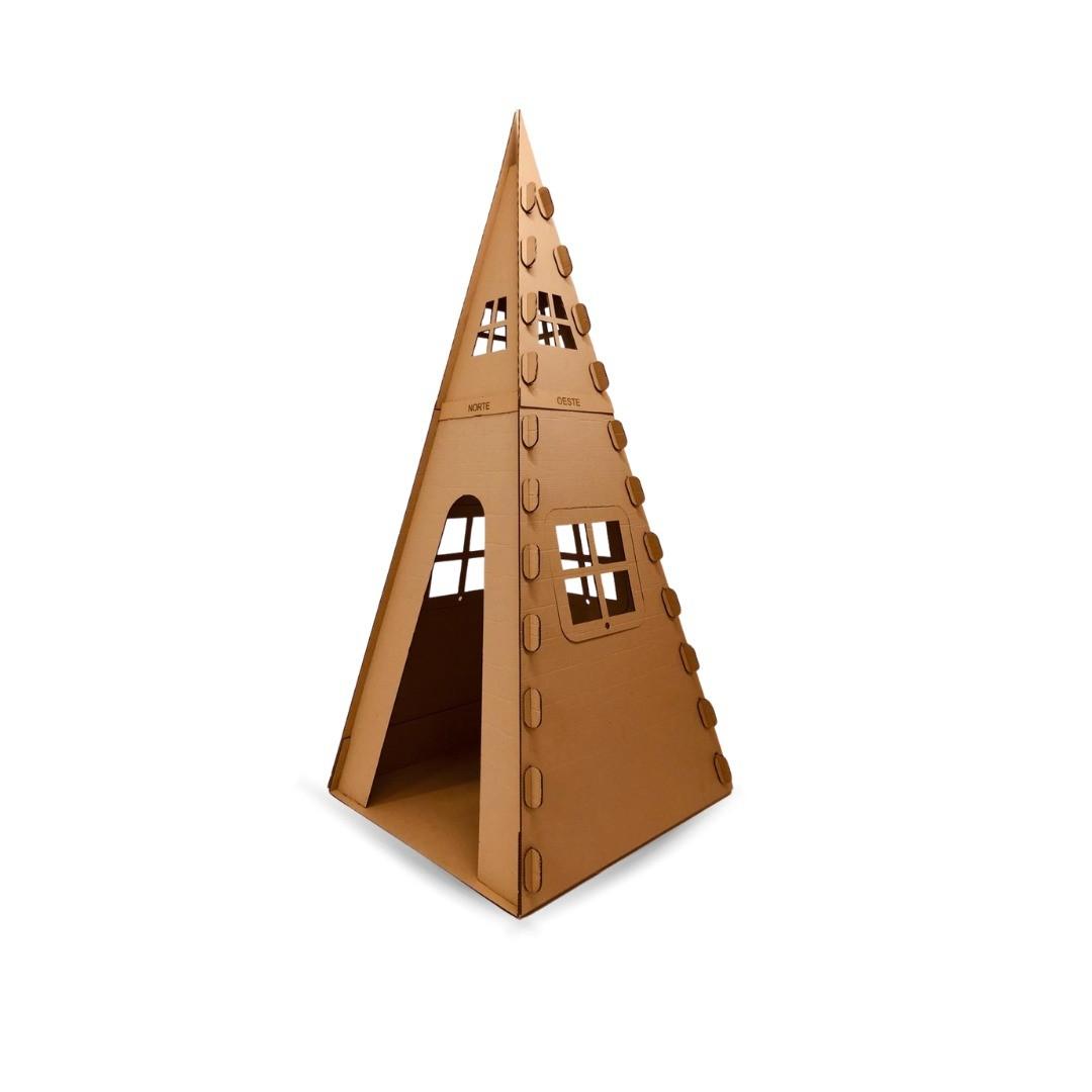 Cabana de Papelão Grande - Faeco