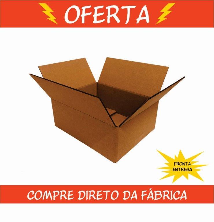 Caixa de Papelão 25x20x10cm