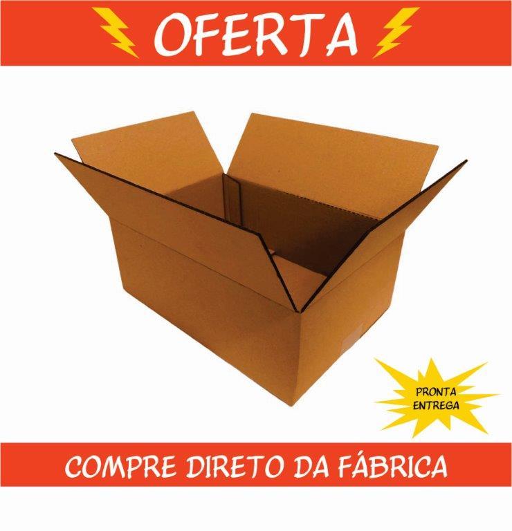Caixa de Papelão 31x22x12cm
