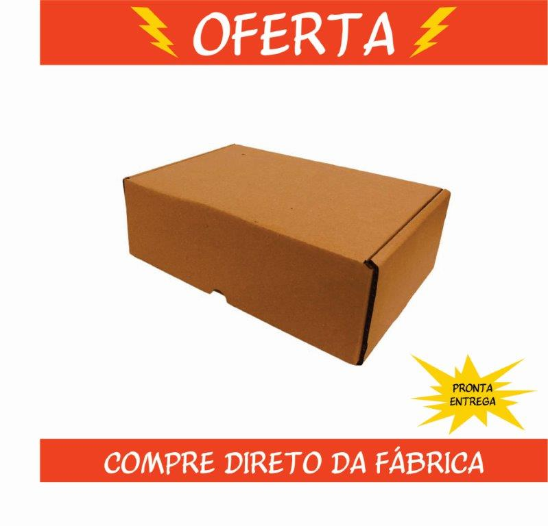 Caixa de Papelão Montável 27x18x9cm