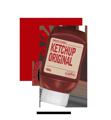 ketchup sabores cepêra