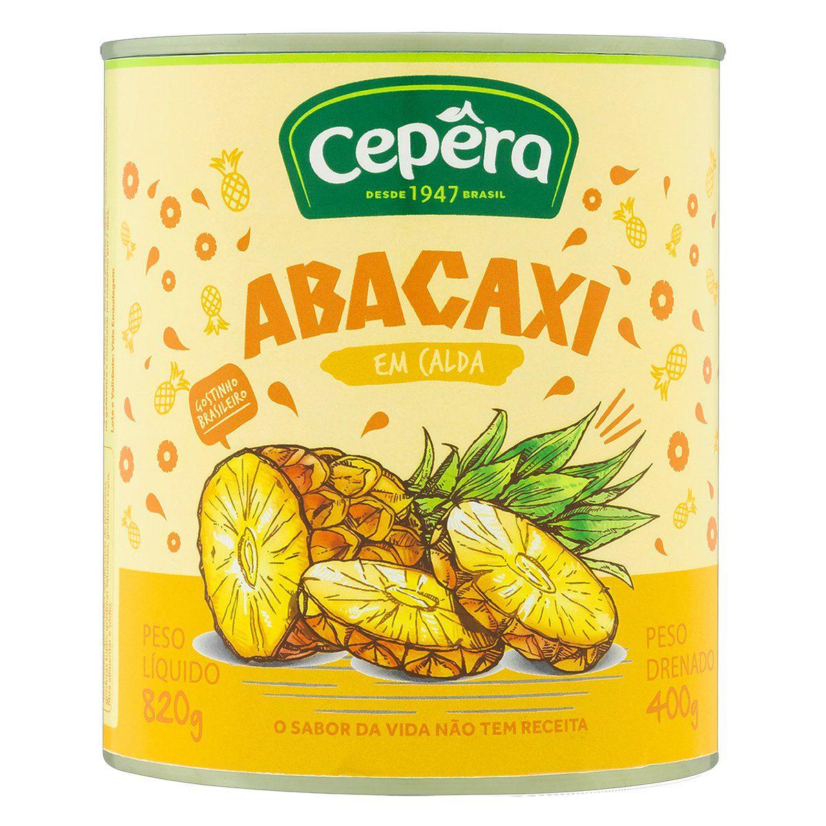 Abacaxi em Calda 400g
