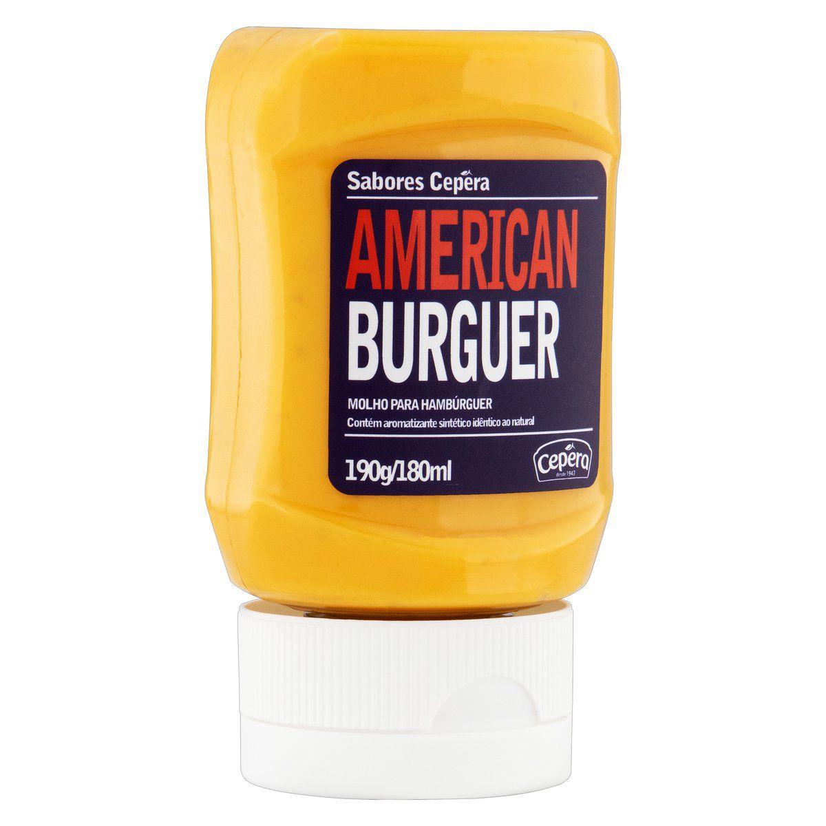 American Burguer 190g