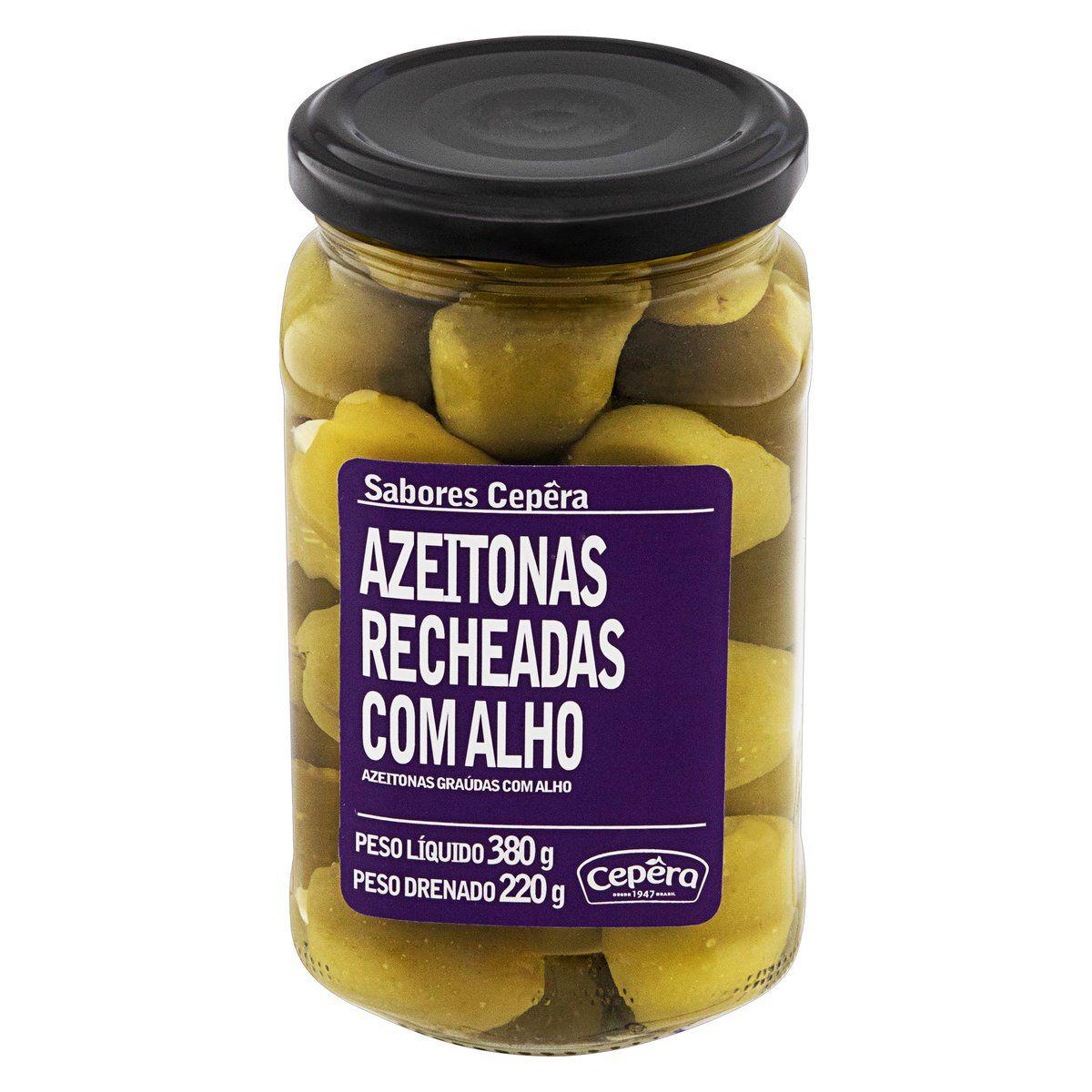 Azeitona Recheada c/ Alho 220g