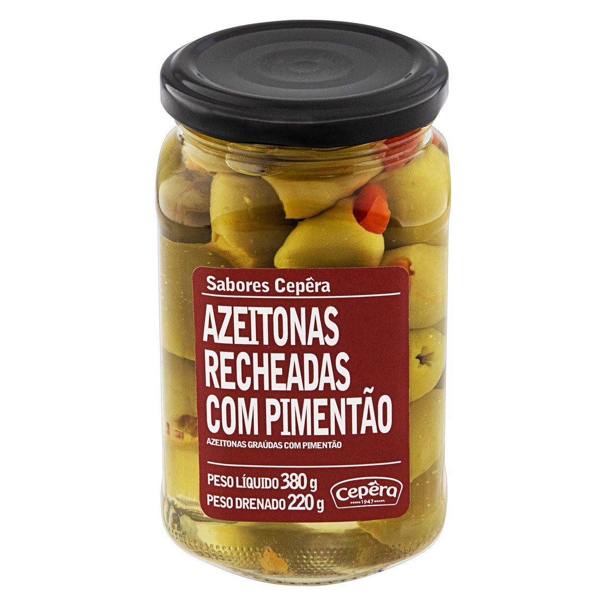 Azeitona Recheada c/ Pimentão 220g