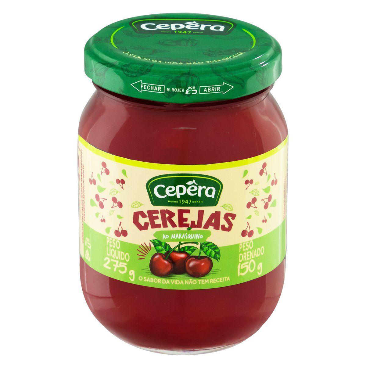 Cereja em Calda Sabor Maraschino 150g