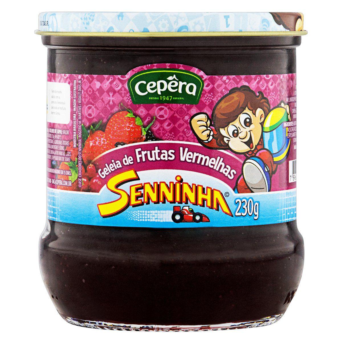 Geleia de Frutas Vermelhas Senninha 230g