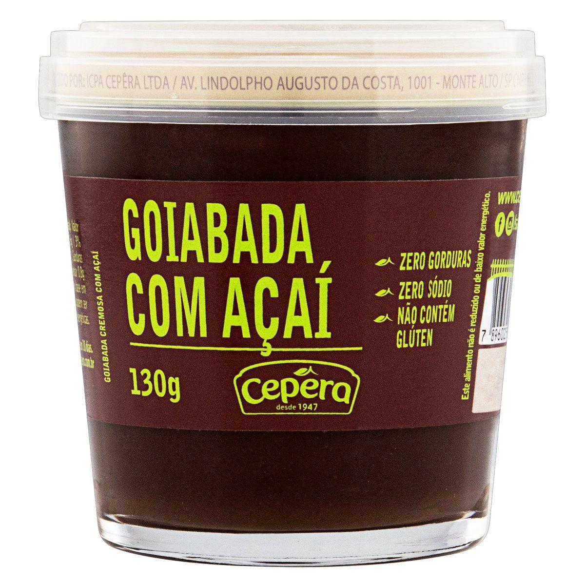 Goiabada C/ Açaí 130g