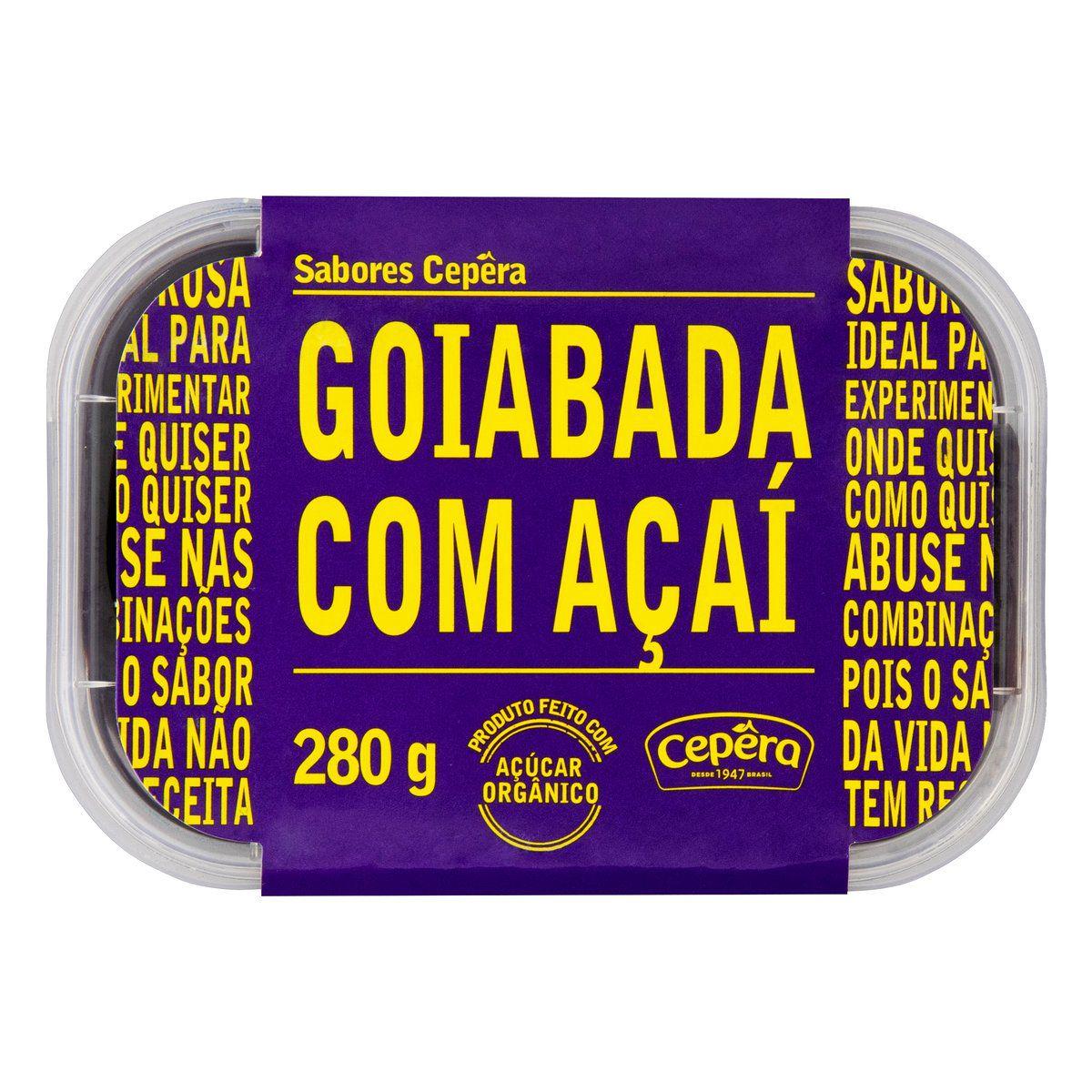 Goiabada com Açaí 280g