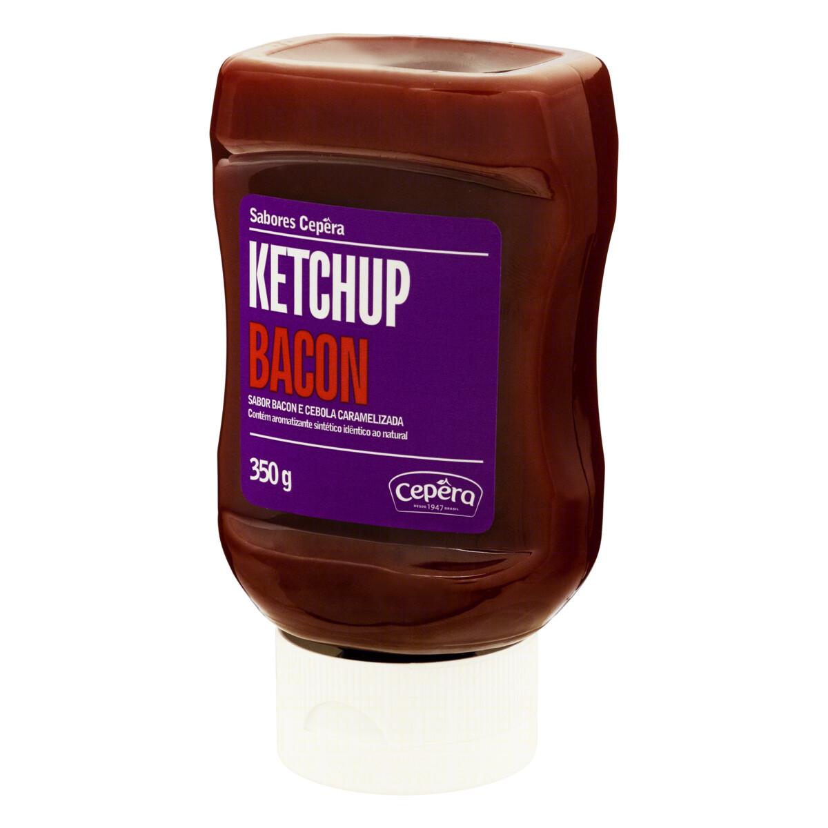 Ketchup Bacon 350g