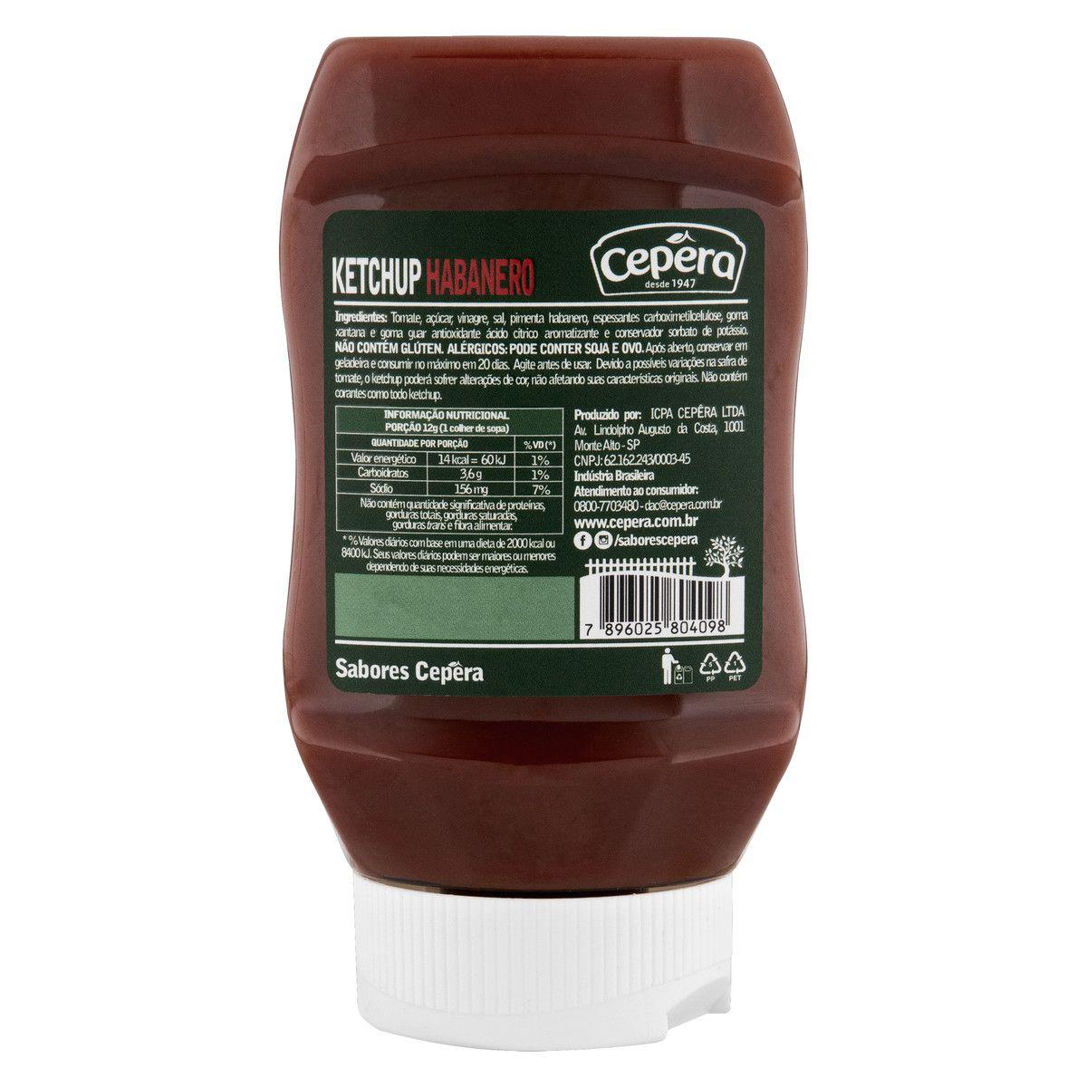 Ketchup Habanero 400g