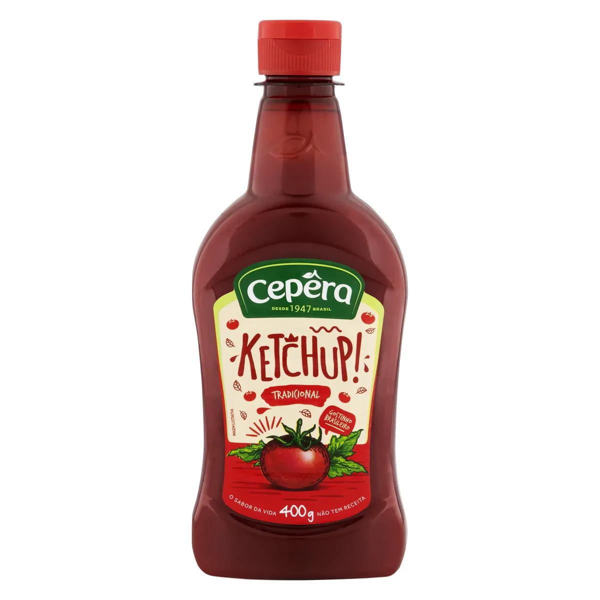 Ketchup Tradicional 400g