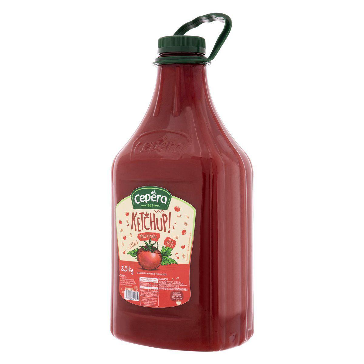 Ketchup Tradicional 3,5kg