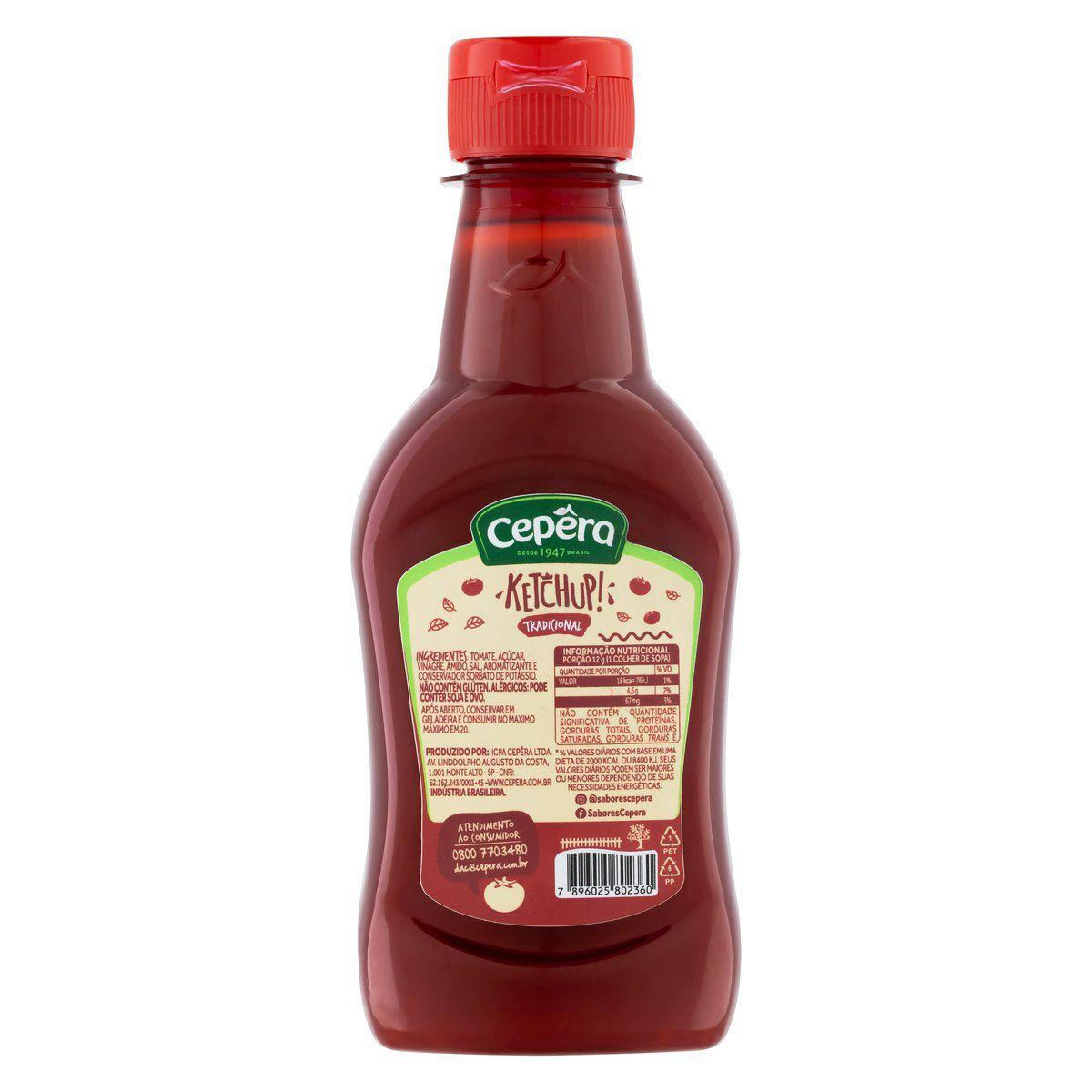 Ketchup Tradicional 210g
