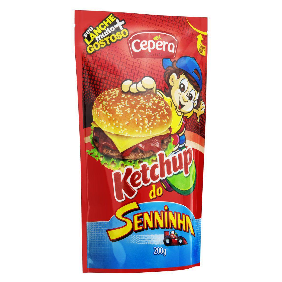 Ketchup Vitaminado Senninha 200g
