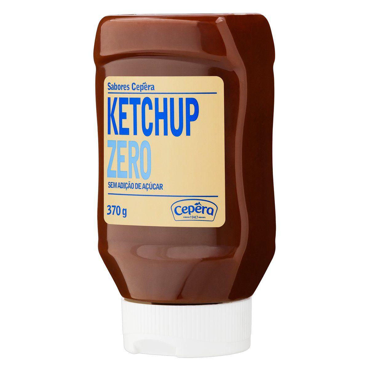 Ketchup Zero Açúcar 370g