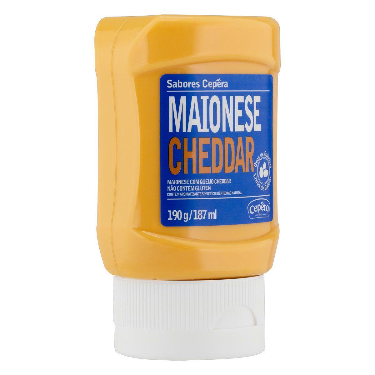 Maionese Cheddar 190g