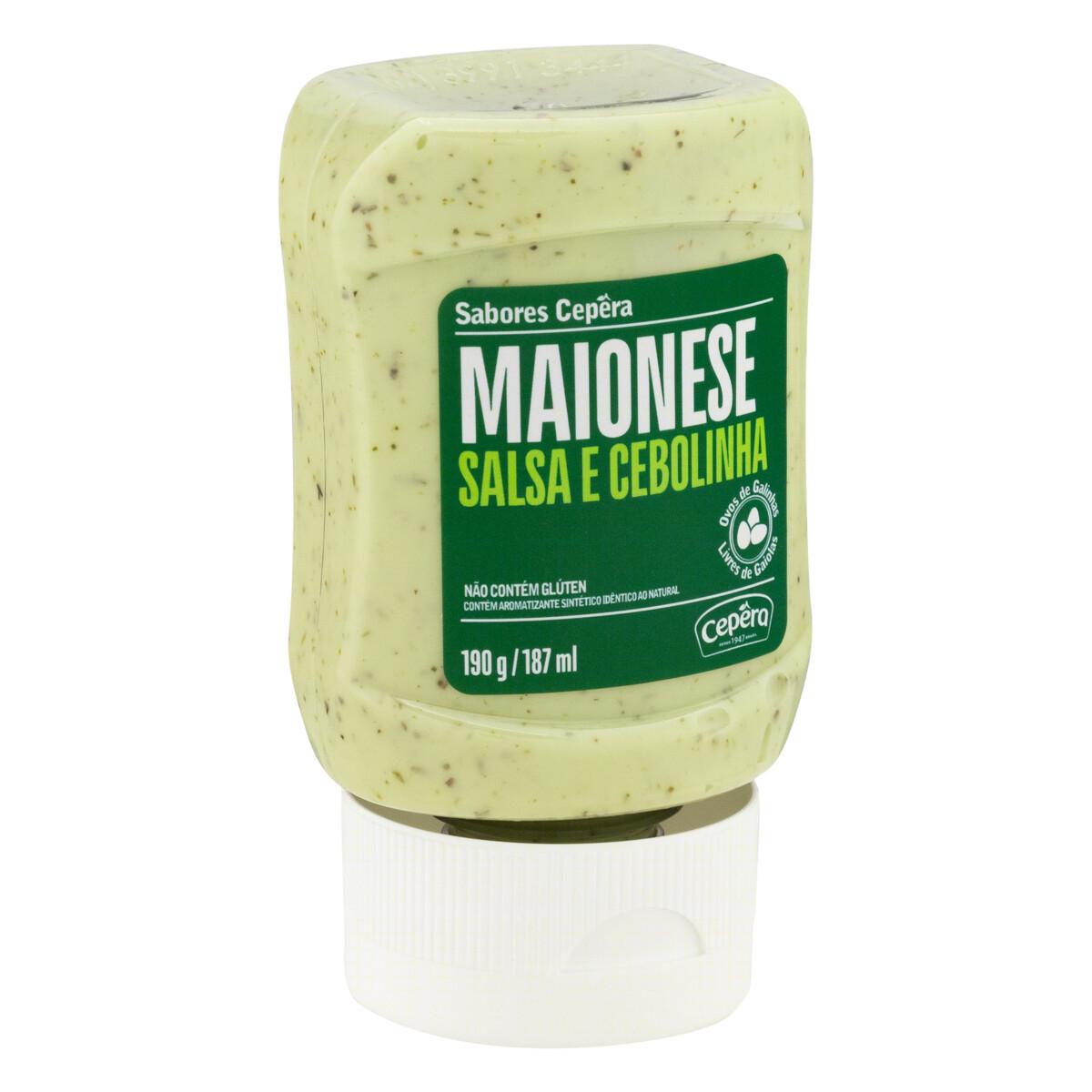Maionese Salsa e Cebolinha 190g