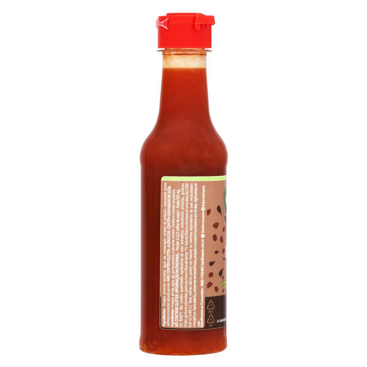 Molho de Pimenta Calabrês 150ml