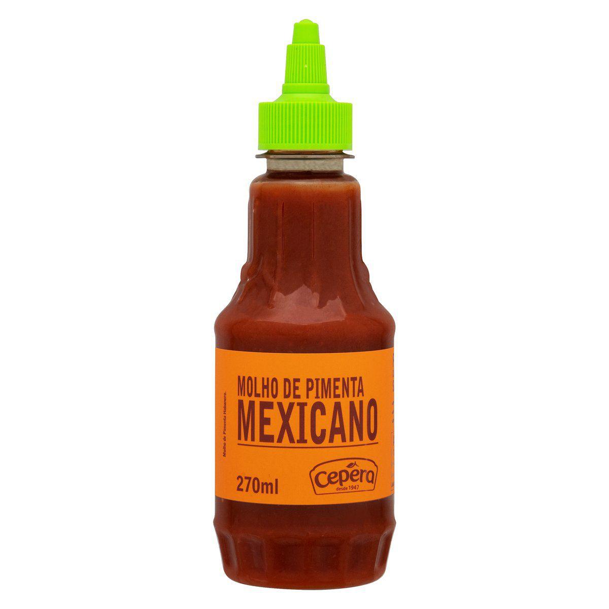 Molho de Pimenta Mexicano 270ml