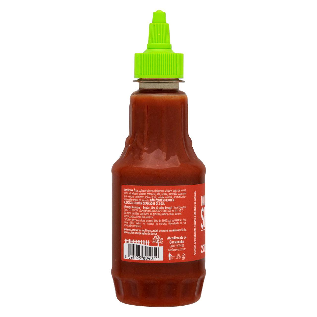 Molho de Pimenta Sriracha 270ml