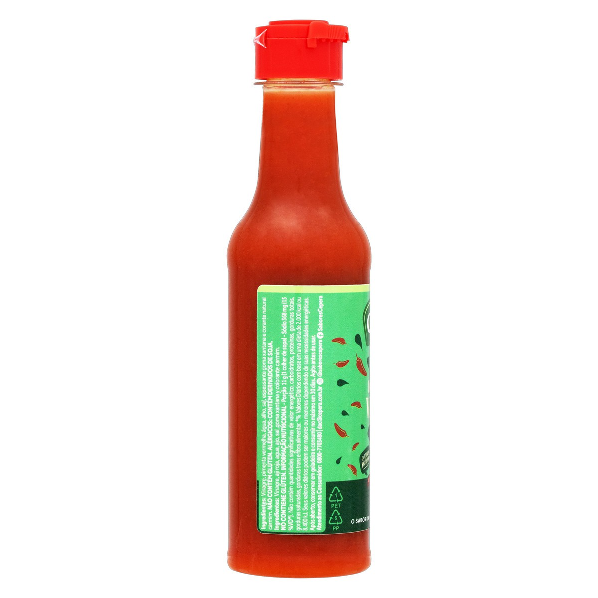 Molho de Pimenta Vermelha 150ml