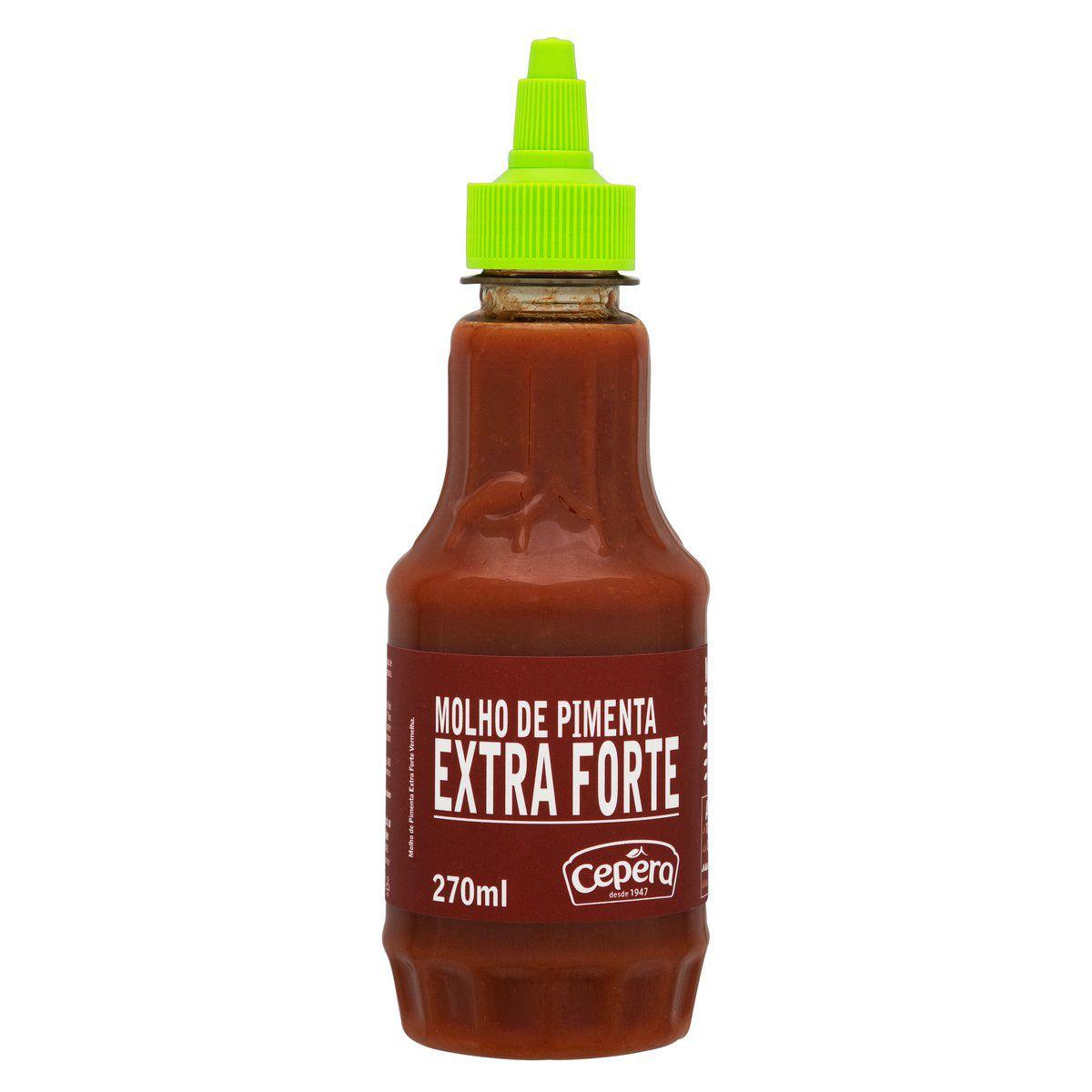 Molho de Pimenta Vermelha Extra Forte 270ml