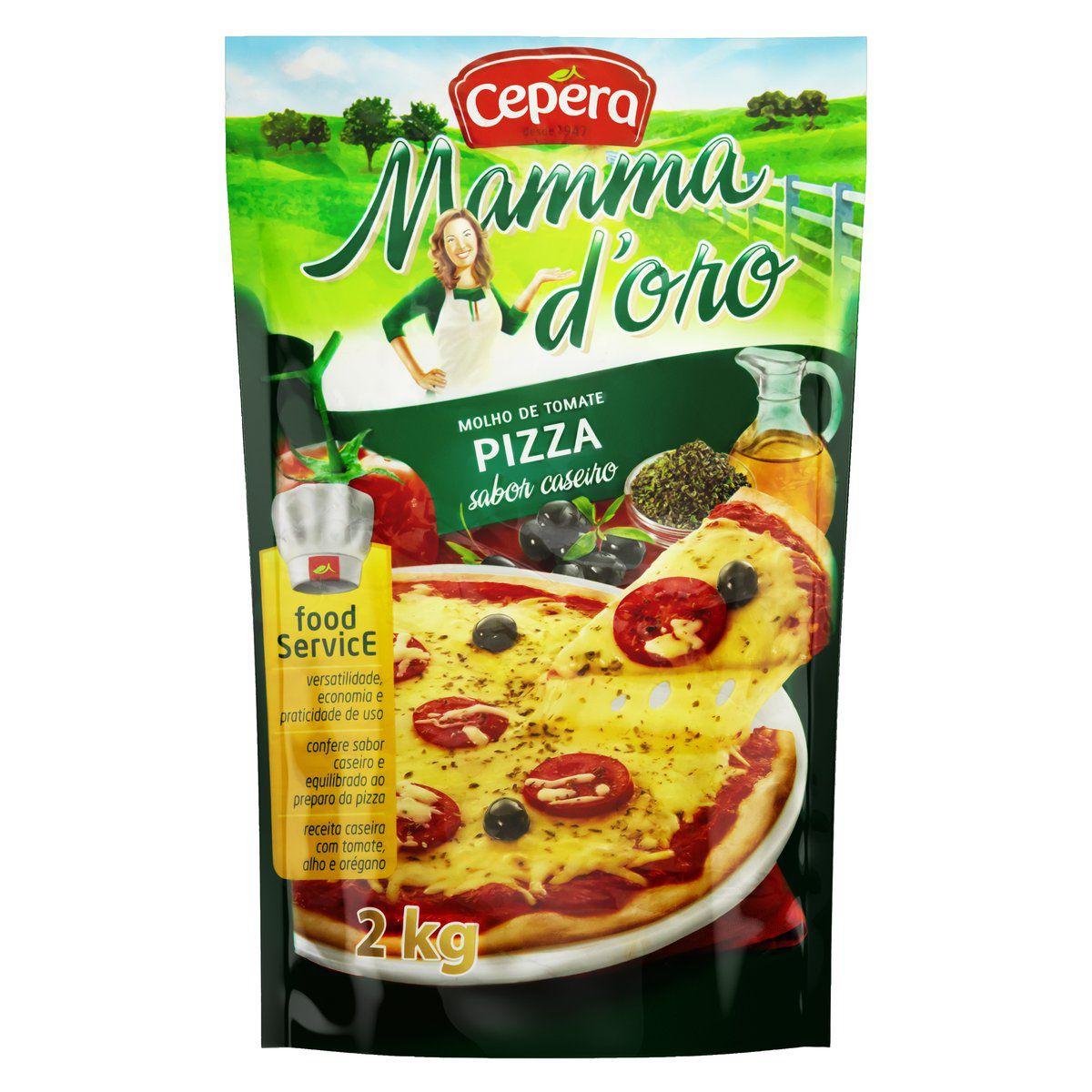 Molho de Tomate Mammadoro Pizza 2kg