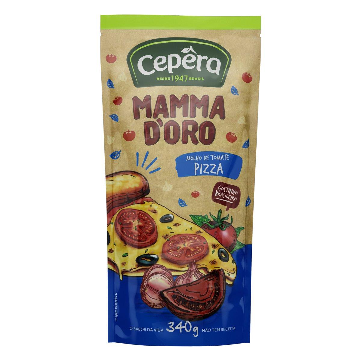 Molho de Tomate Mammadoro Pizza 340g