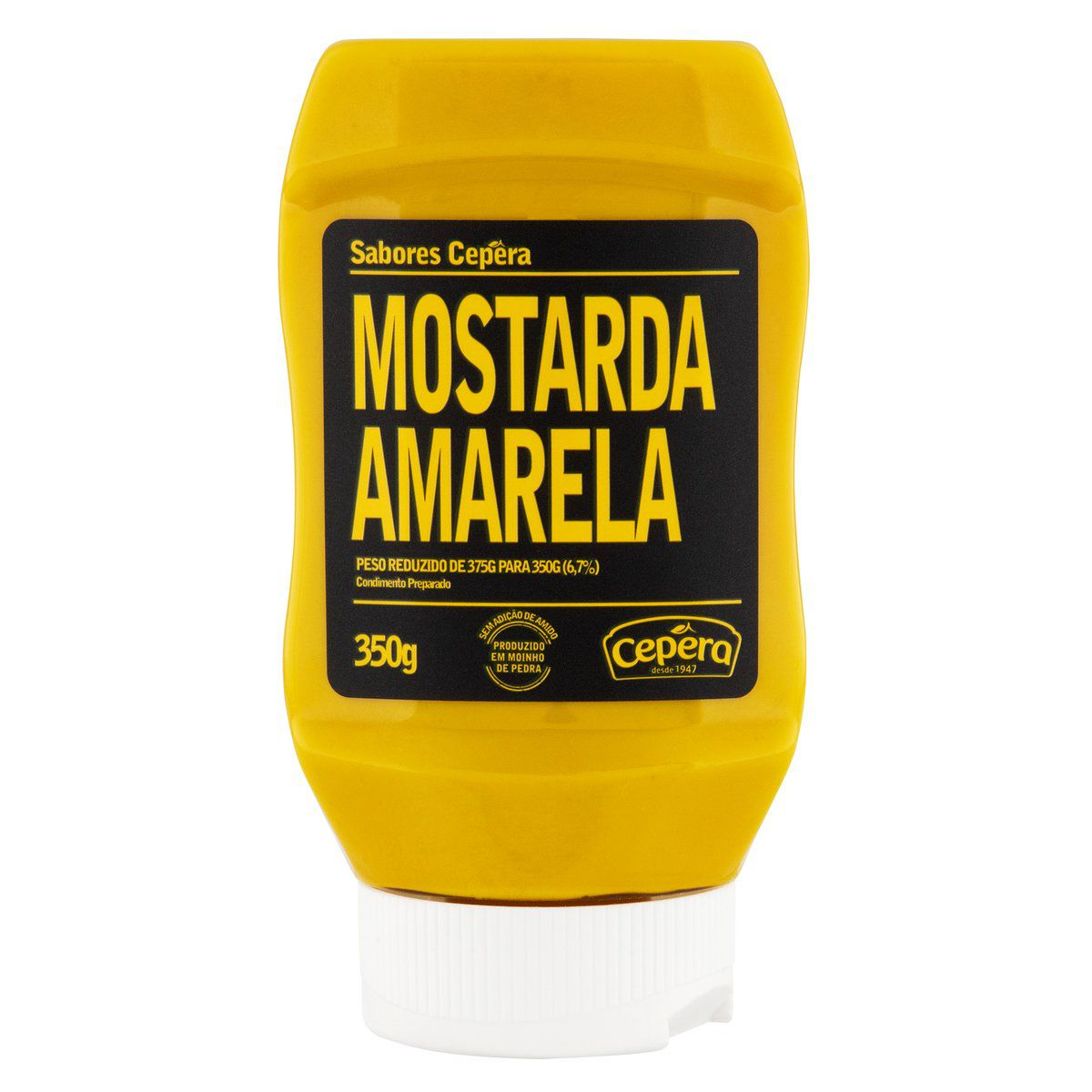 Mostarda Amarela 350g