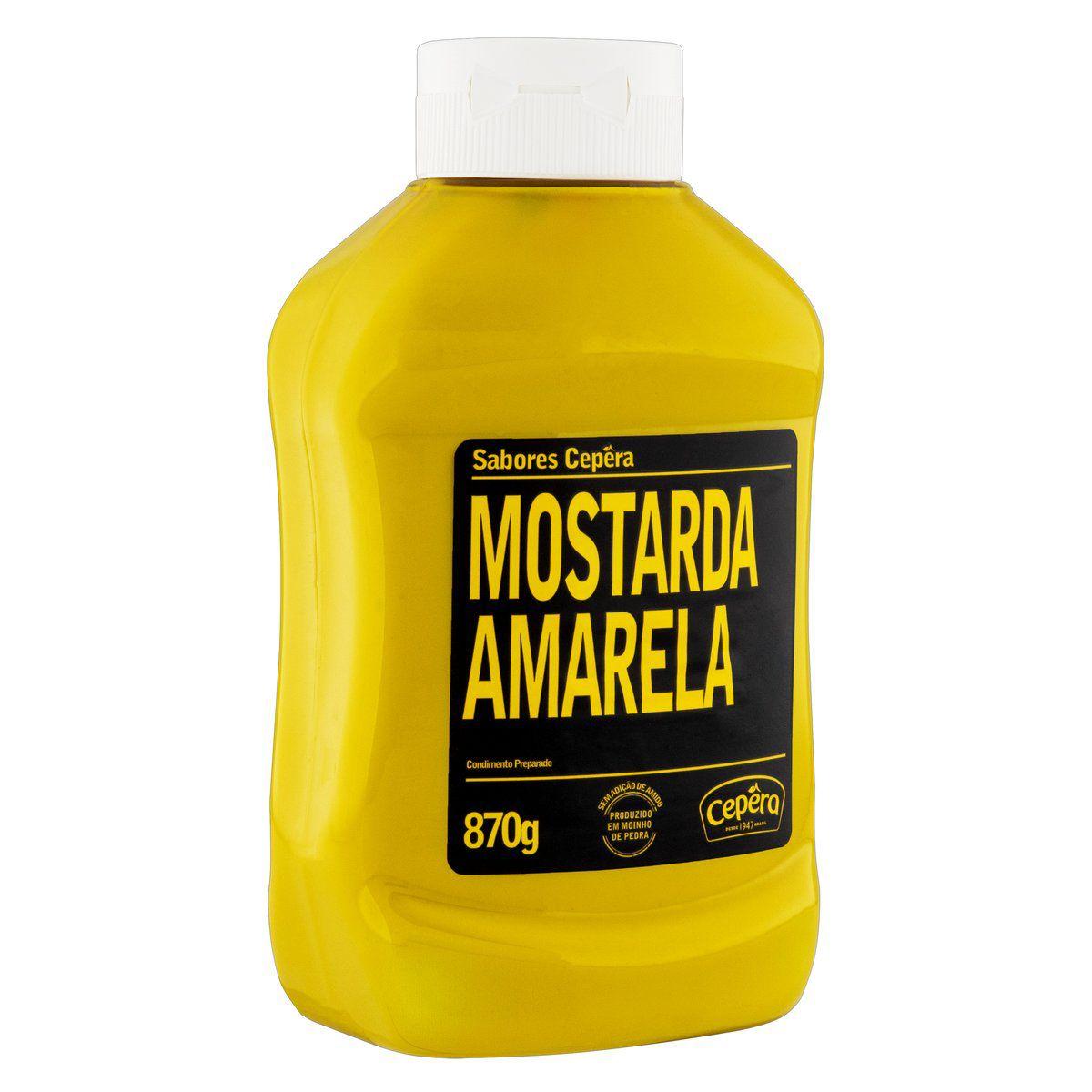Mostarda Amarela 870g