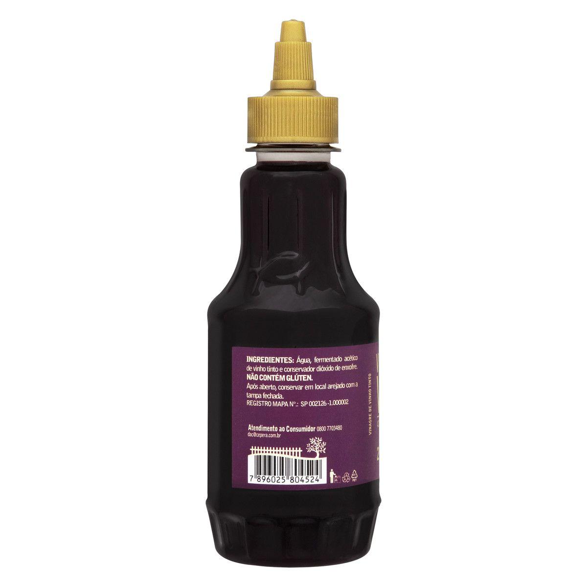 Vinagre de Vinho Tinto 270ml
