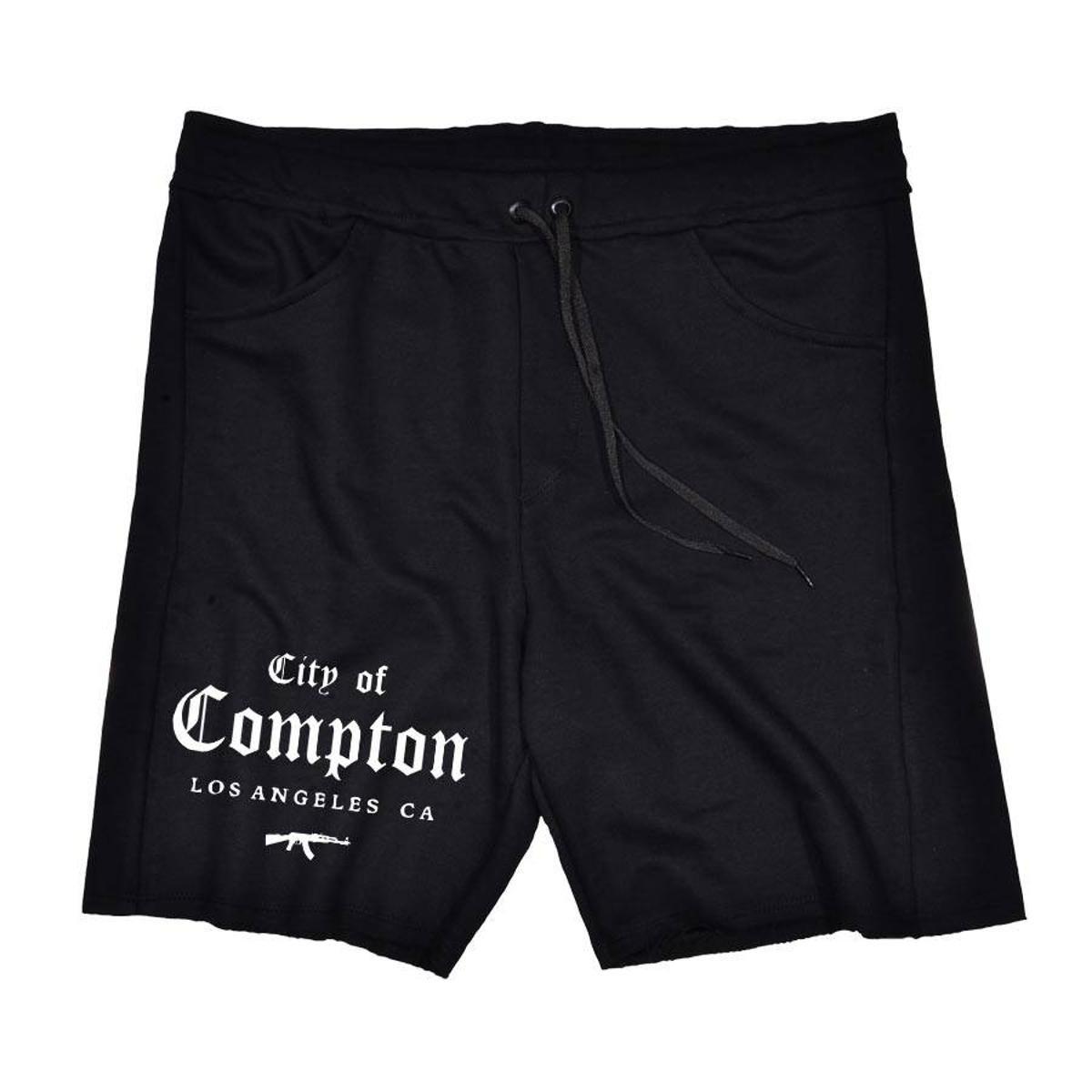 Bermuda Moletom City of Compton