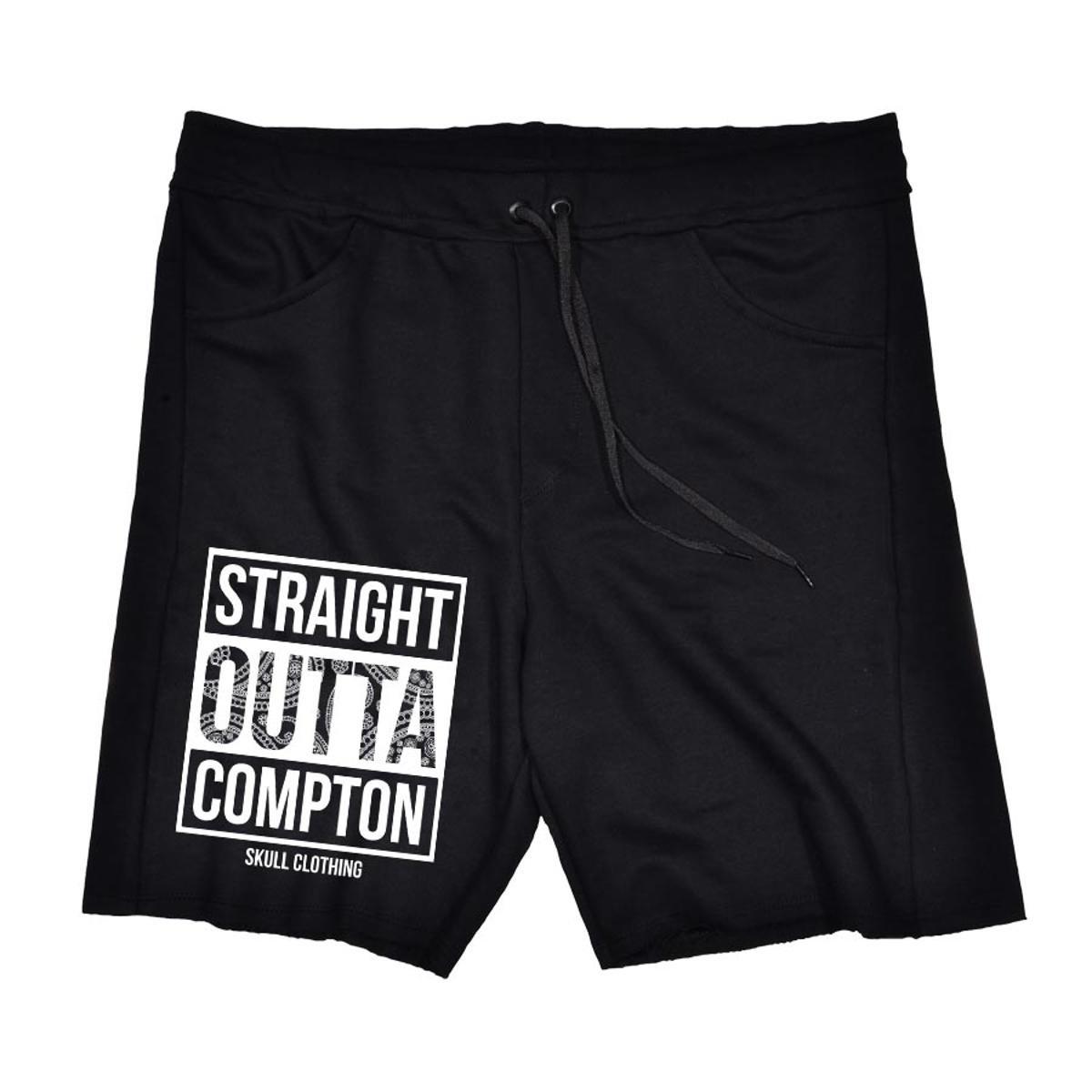 Bermuda Moletom Straight Outta Compton